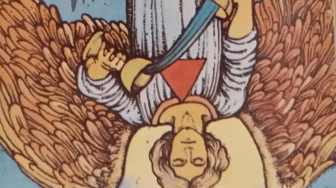 Friday 22nd March 2019: (14) Temperance Reversed