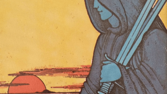 Tuesday 29th September 2020: 5 of Swords