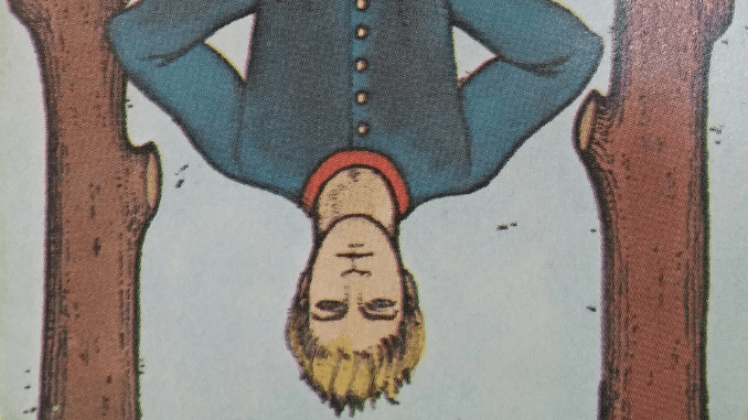 Monday 6th January 2020: (12) Hanged Man