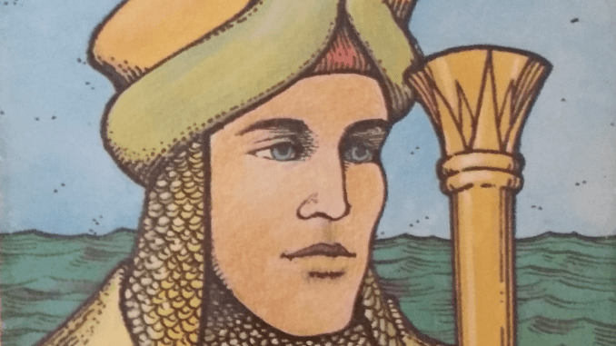 Sunday 29th March 2020: King of Cups