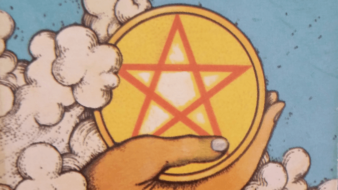 Monday 29th June 2020: Ace of Pentacles