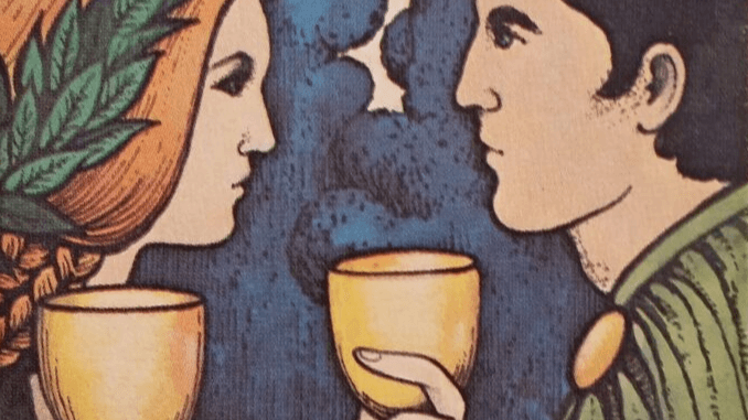 Saturday 25th January 2020: 2 of Cups