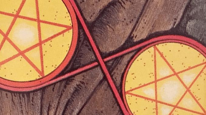 Wednesday 27th November 2019: 2 of Pentacles Reversed