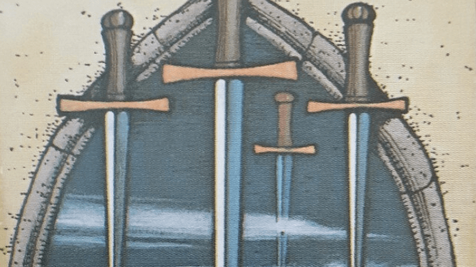 Wednesday 27th May 2020: 4 of Swords