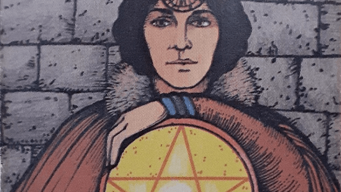 Monday 30th March 2020: 4 of Pentacles